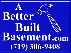 This logo is used on our business cards, signs and vehicles, and verifies that you are dealing with the 'original' Better Built Basements, Inc.!